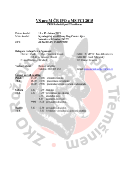 Vzor zvacího dopisu - ZKO Rožmitál pod Třemšínem 034