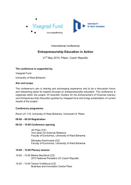 Entrepreneurship Education in Action_Conference program