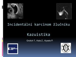 PDF | Kazuistiky a videoprojekce: Radikální cholecystektomie