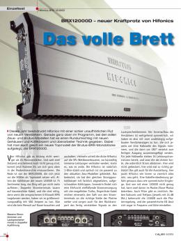 HiFonics BRX12000D Car & Hifi 6/2015