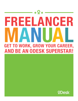 AND BE AN ODESK SUPERSTAR!