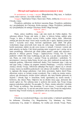 Obrzęd nad kapłanem zanieczyszczonym w nocy PDF