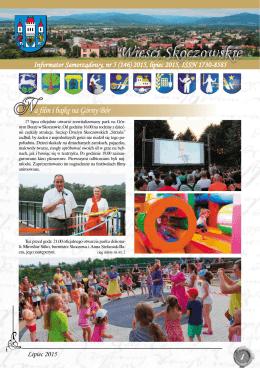 Lipiec 2015 - Skoczów, Urząd Miasta
