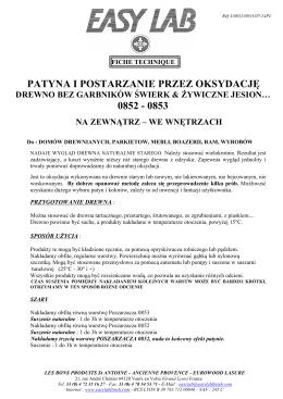 PATYNA I POSTARZANIE PRZEZ OKSYDACJĘ 0852
