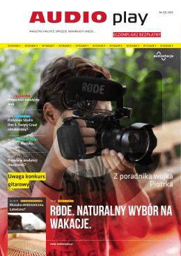 Pobierz 1 numer AudioPlay, lipiec-sierpień 2015