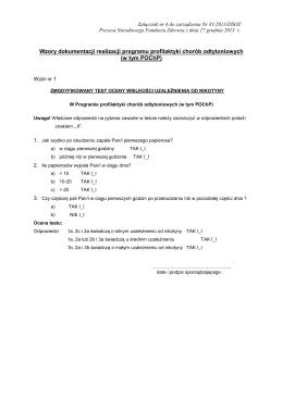 szczegółowy opis świadczeń i zasad ich udzielania, wymagania