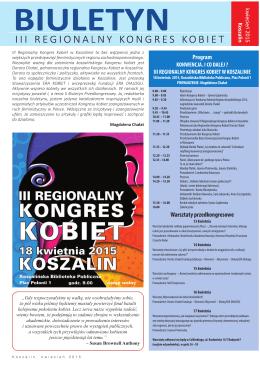 Program Warsztaty przedkongresowe