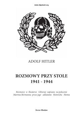 rozmowy przy stole.indd - Krew i Honor Polska