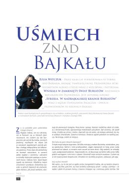 Uśmiech znad Bajkału