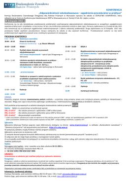 2015.11.24_Ulotka - Okręgowa Izba Radców Prawnych w Warszawie