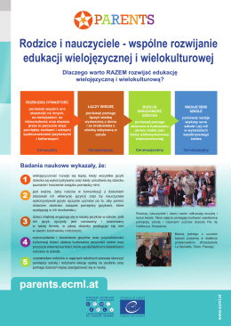 parents.ecml.at - European Centre for Modern Languages