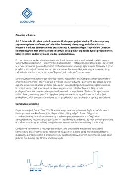 Pobierz PDF - Nokia Wrocław