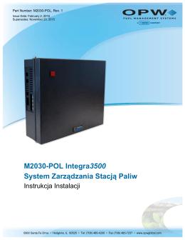 M2030-POL Integra3500 System Zarządzania Stacją Paliw