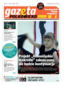 Gazeta Polkowicka Nr 05/15 - Zielona karta, czy to