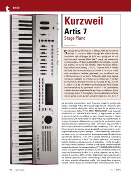 Kurzweil Artis 7
