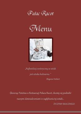 """""""Najbardziej ezoteryczną ze sztuk jest sztuka kulinarna"""