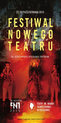 Festiwal Nowego teatru - Teatr im. Wandy Siemaszkowej w Rzeszowie