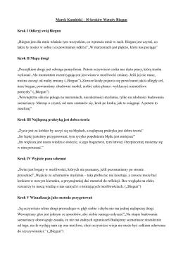 "Opis kroków ""Metody Biegun"""