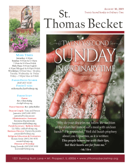 ThomasBecket - St. Thomas Becket Parish