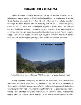 Tetnuldi (4858 m n.p.m.)