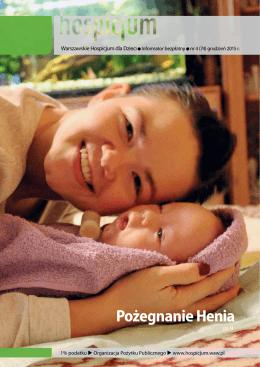 Pożegnanie Henia - Warszawskie Hospicjum dla Dzieci