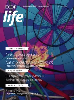 ECDF Life - Nr 1 / Lipiec 2015