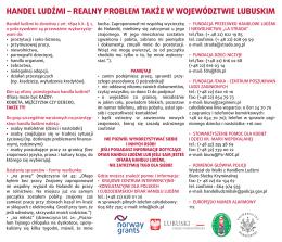 Ulotka - Projekt LASM Lubuskie