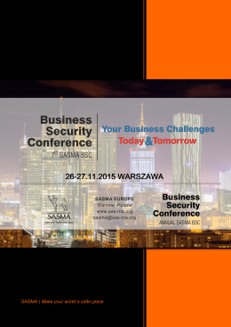 Business Security Conference