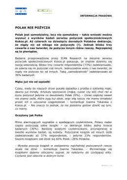 informacja prasowa w pdf