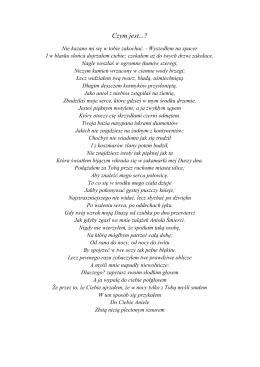 Wiersze Agaty Ziemichód