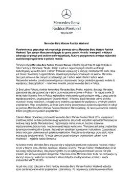 pierwsze wydarzenie modowe spod znaku srebrnej gwiazdy w Polsce