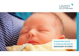 Indywidualny poród w rodzinnej atmosferze NARODZINY W FORST