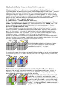 Układanie kostki Rubika – Przemysław Borys, 4.11.2015 (wersja
