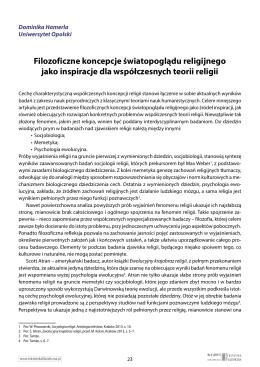 Pobierz artykuł  - Tekstoteka filozoficzna Tekstoteka filozoficzna