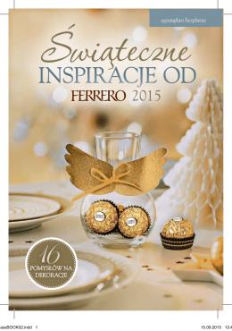 INSPIRACJE OD - dekoracjeferrero.pl