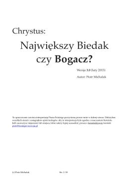 Chrystus - największy Biedak czy Bogacz? v3.pages