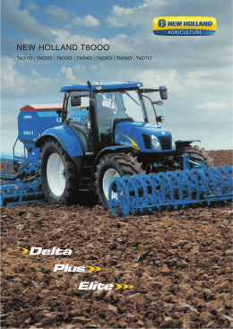 NEW HOLLAND T6OOO