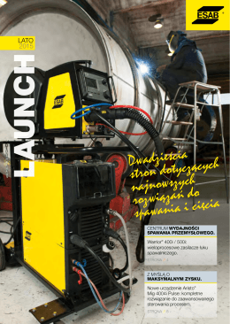 ESAB Launch Lato 2015