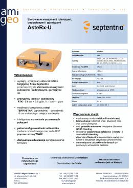AsteRx-U