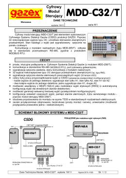 MDD-C32/T