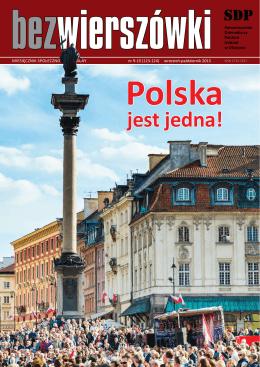 jest jedna! - Stowarzyszenie Dziennikarzy Polskich