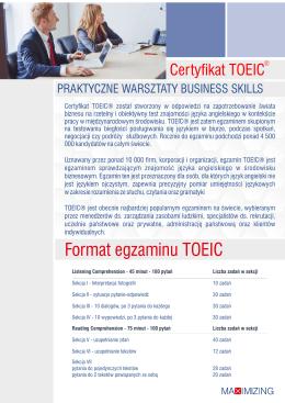 Egzamin TOEIC