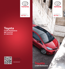 Toyota Crash Assistance