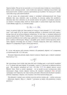 C + O2 ——> CO2 p·V = n·R·T