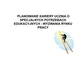 PLANOWANIE KARIERY