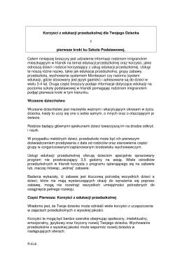 Polish Korzyści z edukacji przedszkolnej dla Twojego Dziecka i