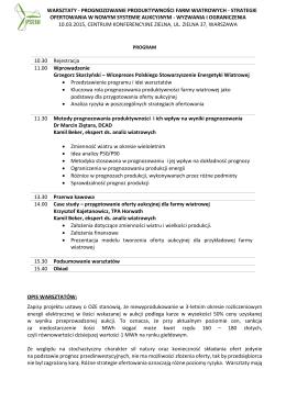 PSEW warsztaty_progonozowanie_10_03_2015
