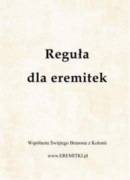 Reguła dla eremitek