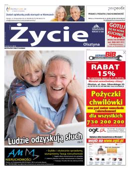 Życie Olsztyna