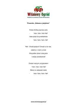 piosenki.wrzesien2015.biedronki